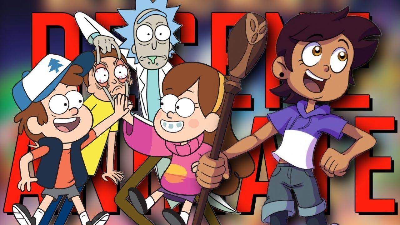 TOP 10 Desene Animate Noi (2009-2020)