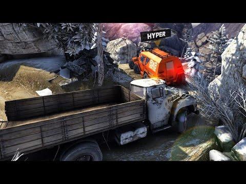 Truck Evolution : WildWheels - Симулятор бездорожья (обзор-летсплей на Android)