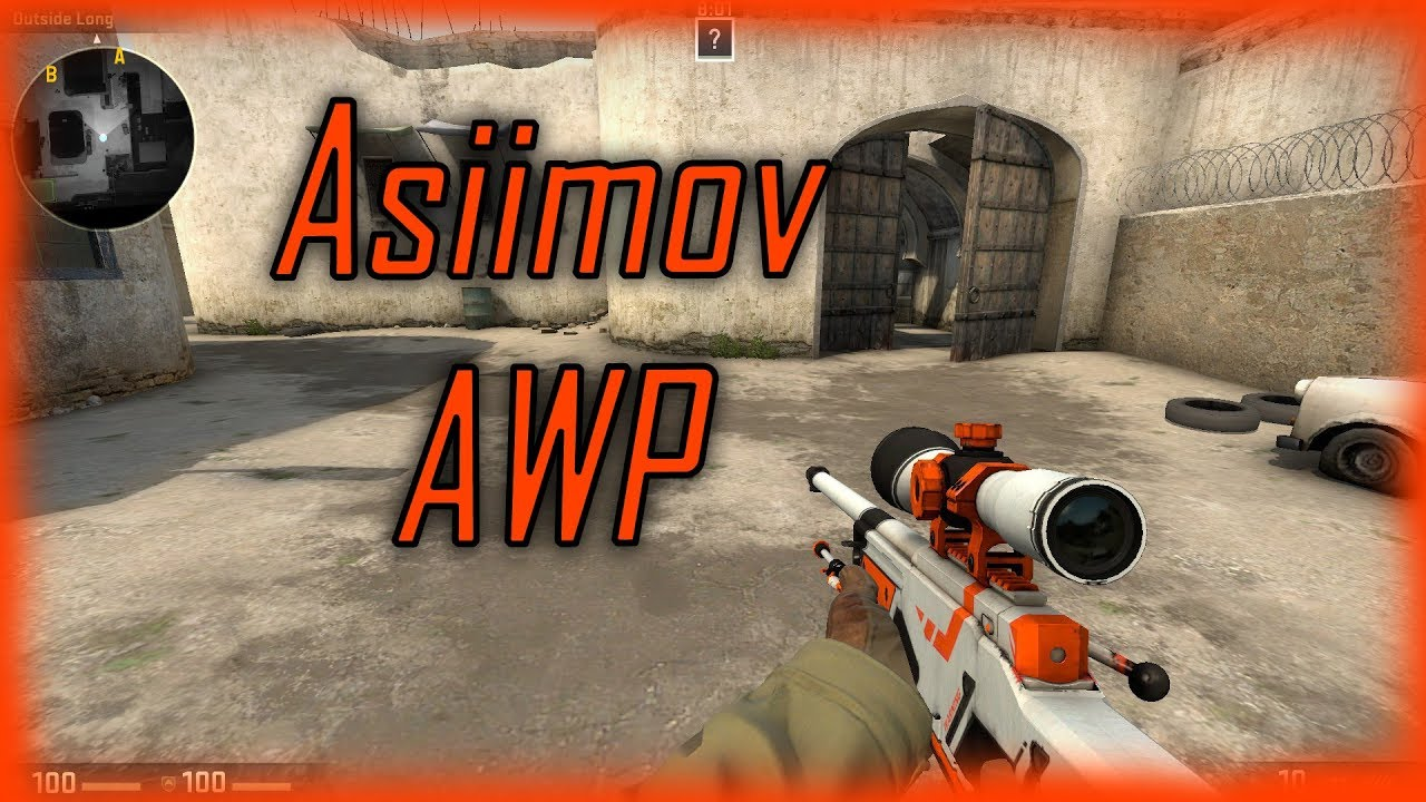 Csgo awp asiimov for counter strike source new youtube - Awp asiimov css ...