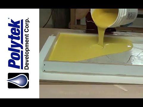 Casting a Concrete Countertop in a Silicone Mold