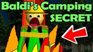 Baldi's Basics 2! PUTTING BALDI into the FIRE?! Let's END This! (Baldi's Basics Field Trip Ending)