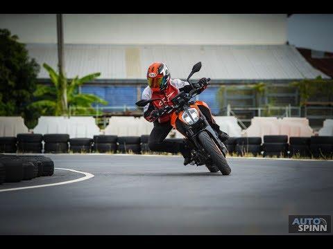 [Test Ride] รีวิว KTM New 390 Duke ปีศาจสีส้มน้องใหม่ ไฉไลกว่าเดิม - วันที่ 12 Jul 2018