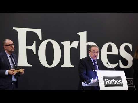 #ForbesCEO17: Discurso de Florentino Pérez, mejor CEO del año.