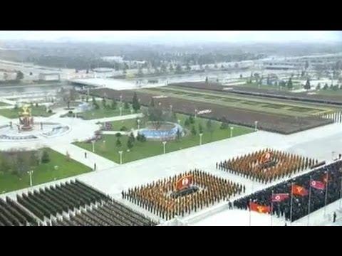 North Korea 2013 Parade - KPA 81st Anniversary