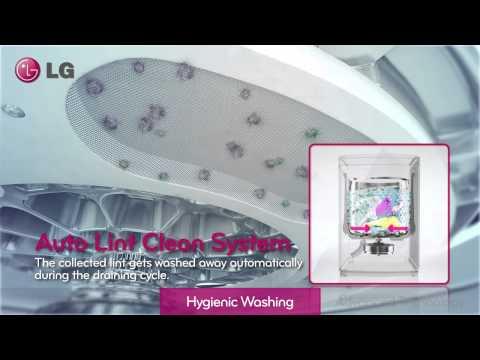2014 New LG Hygienic Top Loader Washing Machine