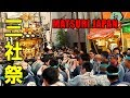 お酒と神輿のホッピー通り!黄金に輝く公園町会渡御!2018年 浅草三社祭 - Asakusa Sanja Matsuri Festival
