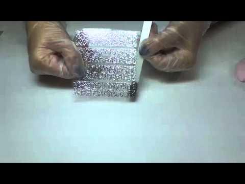 МК Наклейки литьё, покрытие ногтей гель - лаком В. О.