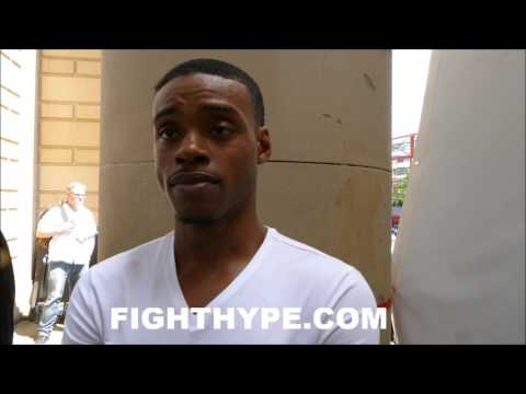 """(EXCLUSIVE) ERROL SPENCE AFTER WEIGH-IN; REACTS TO BROOK MAKING WEIGHT: """"DON'T THINK IT'S GOING 12"""""""