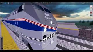 railfaning amtrak in roblox
