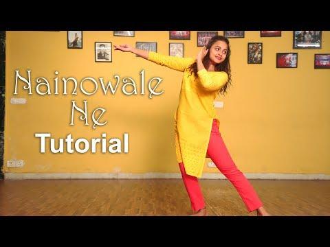 Nainowale Ne Dance Tutorial | Padmaavat | Aditi | Dancercise