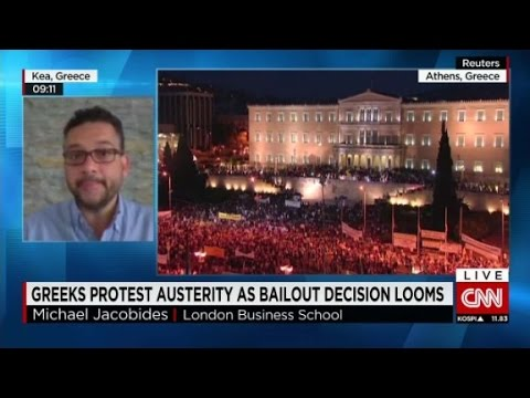 Tensions rise as Greek bailout decision looms