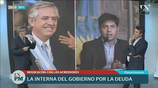 Alberto Fernández, Axel Kicillof y la deuda, primer capítulo de la pulseada en el kirchnerimo