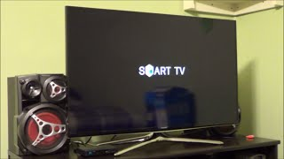 Samsung UN40H6350 LED Smart TV Setup Demo