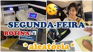 UMA SEGUNDA FEIRA *ALEATÓRIA* NA MINHA VIDA!!! (rotina) | VEDA 18