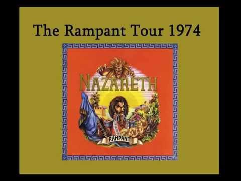 Nazareth - Live in Stockholm, Sweden 1974 (Full Concert Audio) Rampant Tour!