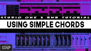 How to Make an RnB Beat In Studio One 3 with Simple Chords | Studio One 3 tutorial beat making