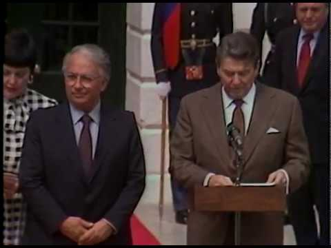 President Reagan's and President Belisario Betancur Curatas of Colombia Remarks on April 4, 1985