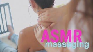 ASMR Scalp, Back, Shoulders & Neck Massage | Shea Butter & Coconut Oil | No Talking