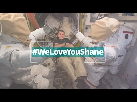 Taking Love That Sticks to Space: #WeLoveYouShane