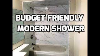 Budget Friendly Shower Bath & Shower Tile Ideas EP 17