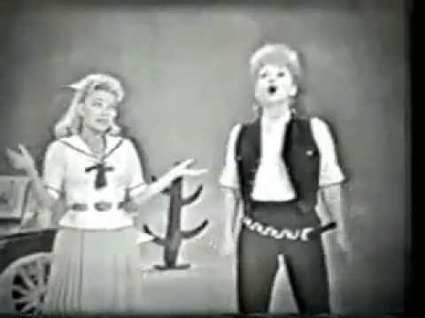 Lucille Ball and Paula Stewart - Hey, Look Me Over - live television - 1960