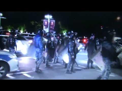 Вечерний Ереван.Кадры онлайн трансляции