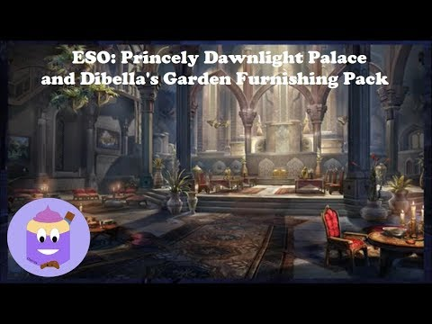 ESO: Princely Dawnlight Palace and Dibella's Garden Furnishing Pack