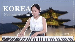 [ National Anthem of Korea 애국가(광복절기념) ] Piano HEONITTO