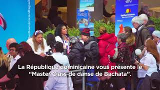 Cours magistral de Bachata à Montréal - Masterclass of Bachata in Montreal