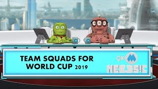 ICC World Cup 2019 | World Cup Teams | 9XM Newsic | Bade | Chote