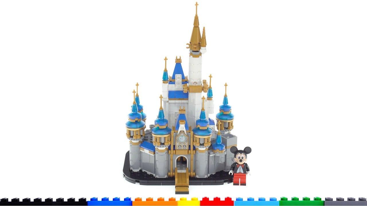 LEGO Mini Disney Castle 40478 review! Reasonable size & price, great detail, surprisingly good