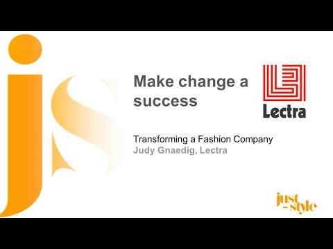 Make change a success: Transforming a Fashion Company