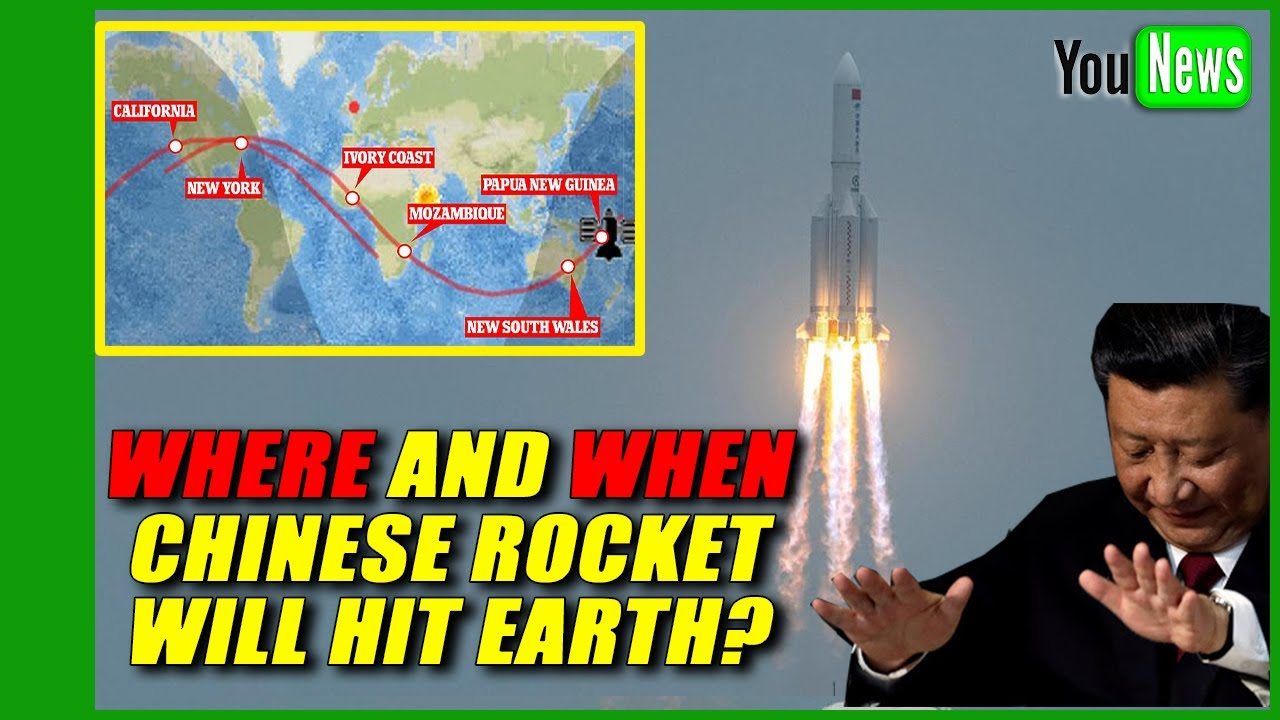 Out-of-control Chinese rocket expected to fall to Earth in the coming ...