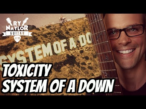 Toxicity Guitar Tutorial w/ TAB - System of a Down - Drop C - 12/8 time signature