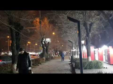 Ереван 08.12.2019/ улица Комитаса вечером
