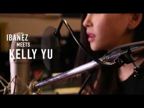 Kelly Yu with Ibanez AE Acoustic Guitars