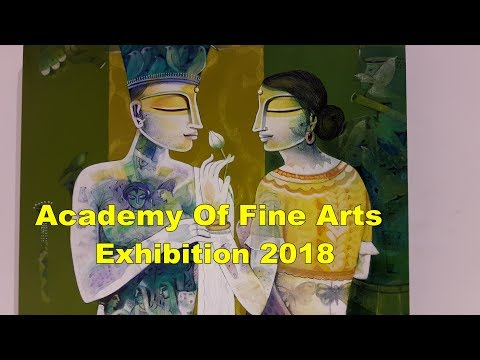 Academy Of Fine Arts Kolkata Best Art Exhibition in Kolkata West Bengal -Painting Exhibition 2018