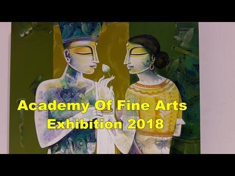 Academy Of Fine Arts Kolkata Best Art Exhibition In Kolkata West Bengal -Painting Exhibition 2018