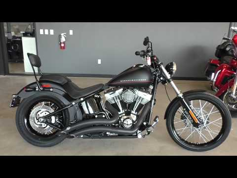 049184   2013 Harley Davidson Softail Blackline   FXS Used Motorcycles For Sale