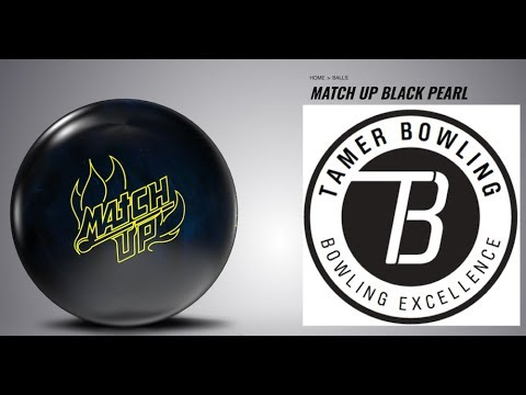 Storm Match Up Black Pearl (3 testers - 2 patterns) by TameBowling.com