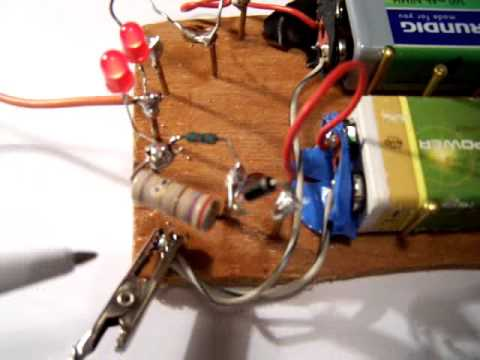 9 volt battery charge circuit schematic youtube rh youtube com