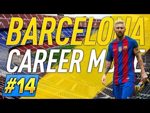 NEYMAR ODCHÁDZA!!! #14 BARCELONA CAREER MODE - FIFA 17