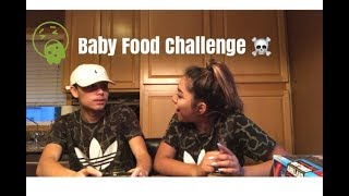 Blindfold Baby Food Challenge!!!! (Ft. Yari)
