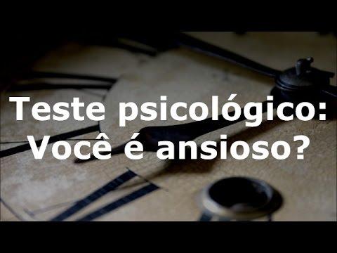 Assista: Teste psicológico: Você é ansioso?