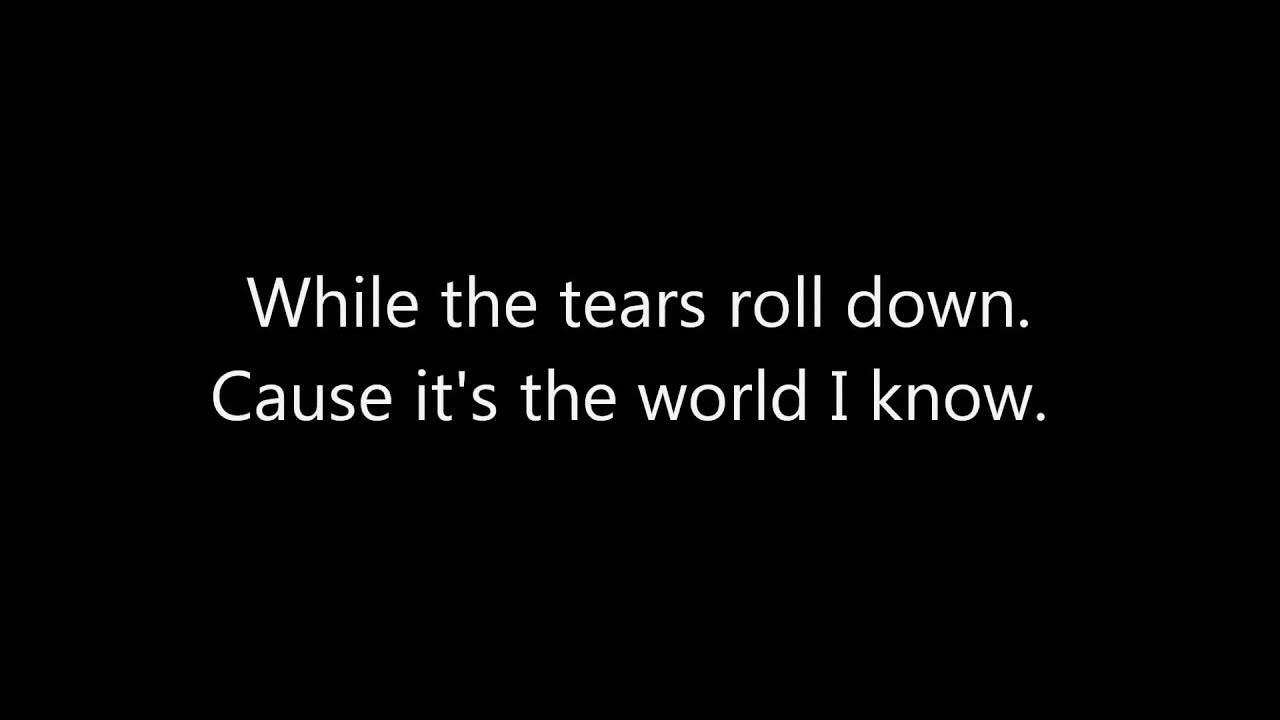 THE WORLD I KNOW CHORDS (ver 2) by Collective Soul ...