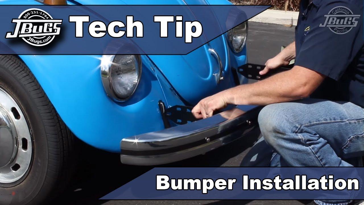 jbugs tech tip beetle bumper installation [ 1280 x 720 Pixel ]