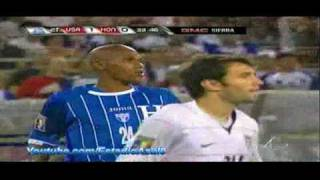 CONCACAF Copa de Oro 2009 - Grupo B - EU vs Honduras