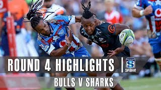 ROUND 4 HIGHLIGHTS: Bulls v Sharks – 2019