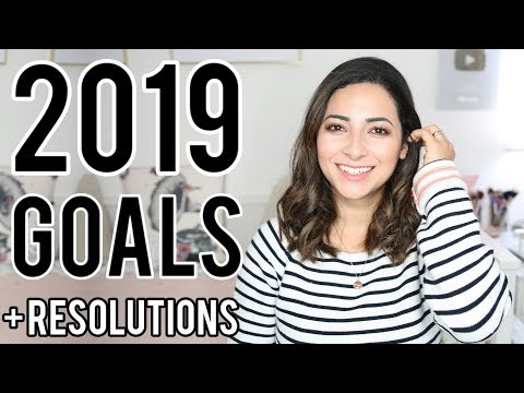MY 2019 GOALS & RESOLUTIONS + Looking Back at My 2018 Goals   Ysis Lorenna