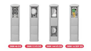 SNM 48 SIS Optical Pillar Closure video